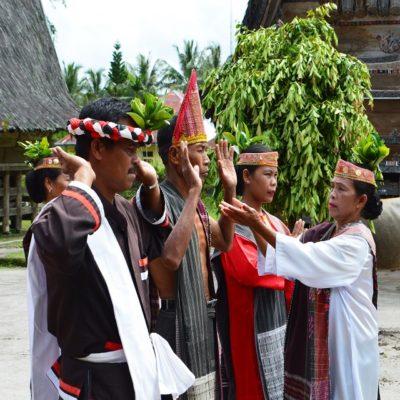 Батаки Самосир Суматра Индонезия