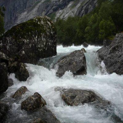 Водопад реки Раума Норвегия