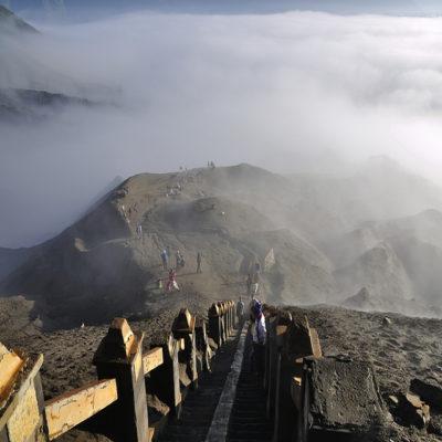 Восхождение на вулкан Бромо остров Ява