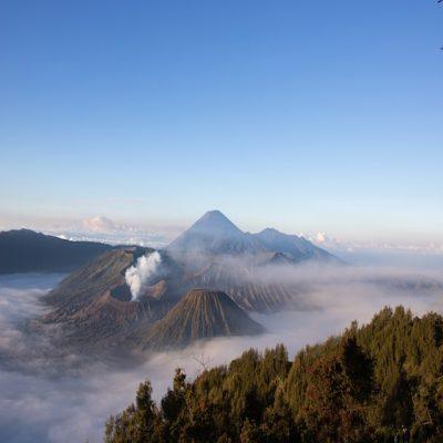Вулкан Бромо остров Ява