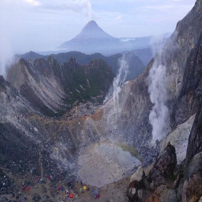 улкан Сибайяк Суматра Индонезия