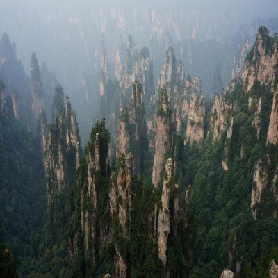 Горы Аватара парк Чжанцзяцзе Китай