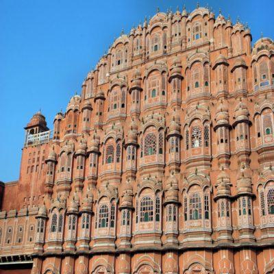 Дворец Ветров Хава Махал в Джайпуре