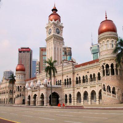 Дворец султана Абдул Самада в Куала-Лумпуре