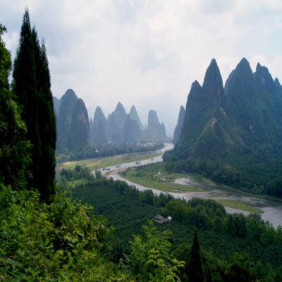 Долина реки Ли Китай