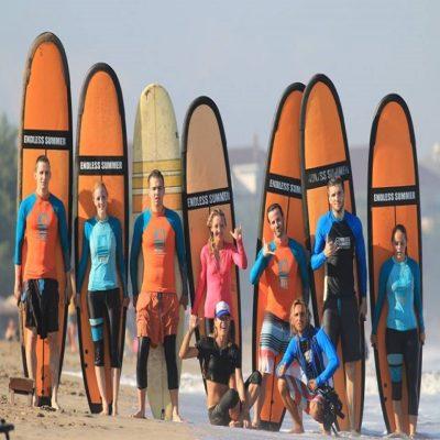 Команда серф-кемпа Бали