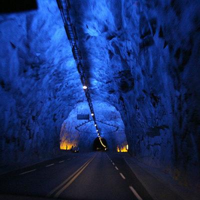 Лердальский тоннель Норвегия