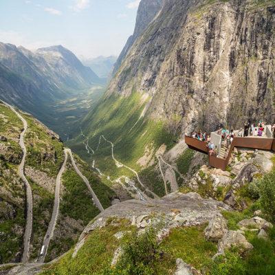 Лестница троллей Норвегия
