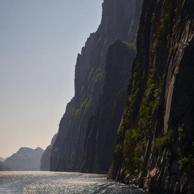 Люсе фьорд Норвегия