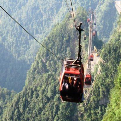 Наш трансфер на гору Тяньмэнь