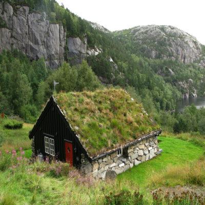 Норвежский домик Норвегия