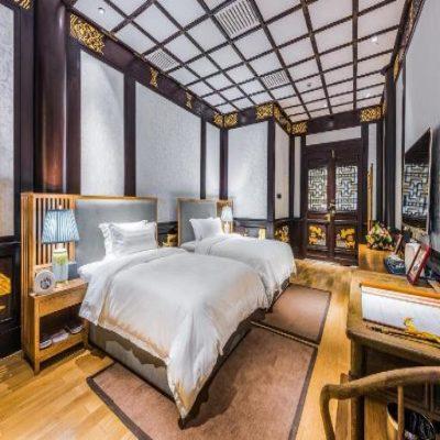 Отель Chengdu Courtyard Hotel в Ченду