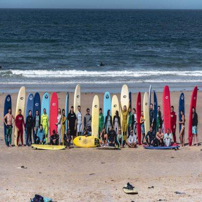 Серф команда серфинг Португалия