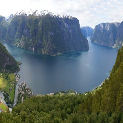 Согне фьорд Норвегия