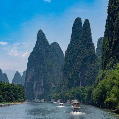Сплав по реке Ли Яншо Китай