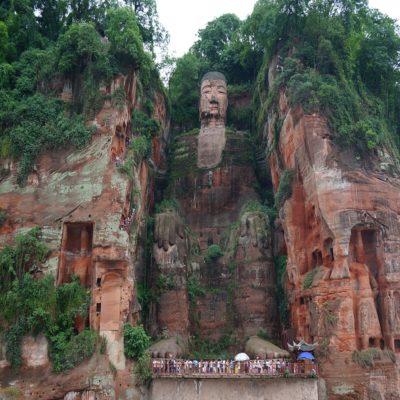 Статуя Большого Будды в Лэшани Китай