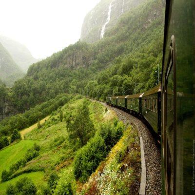 Фломская железная дорога Норвегия