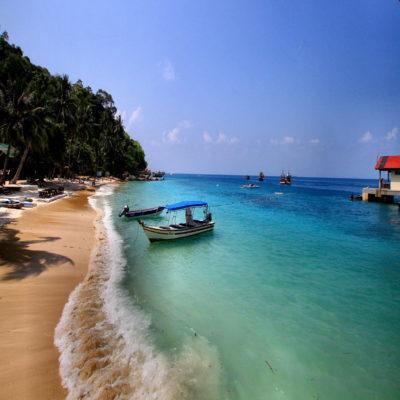 остров Перхентиан Бесар Малайзия