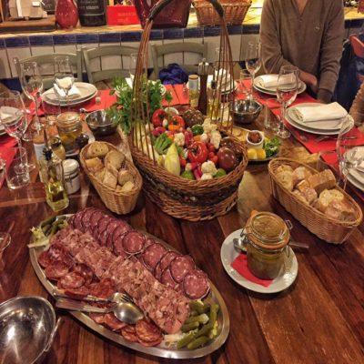 Французский ужин
