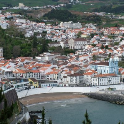 Ангра ду Эроишму Азорские острова Португалия
