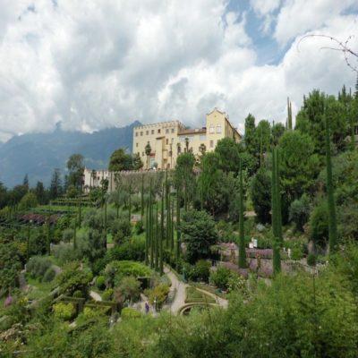 Ботанический сад Мерано Тироль Италия