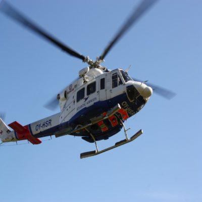 Вертолет Фарерские острова