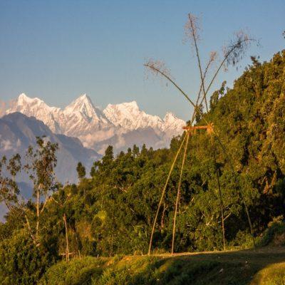 Вид на Ганеш Химал Непал двоеточие двоеточие