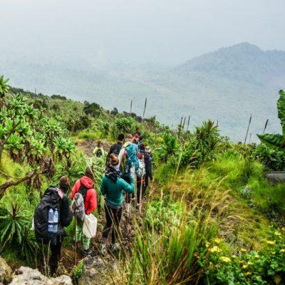 Восхождение на вулкан Ньирагонго Конго