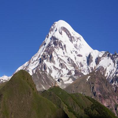 Гора Казбек Грузия