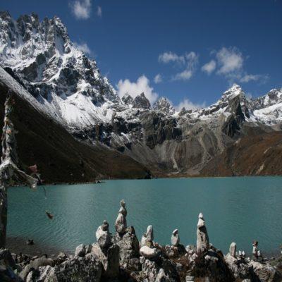 Озеро Гокио в Гималаях Непал