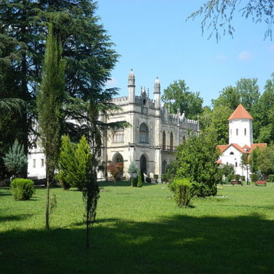 Дворец Князей Дадиани в Зугдиди Грузия