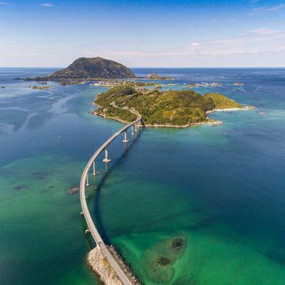Знаменитый мост в городе Соммарой