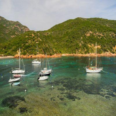 Корсика Сардиния Франция Италия яхты