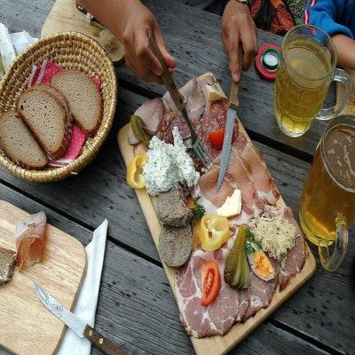 Маренд дневной перекус по тирольски Италия