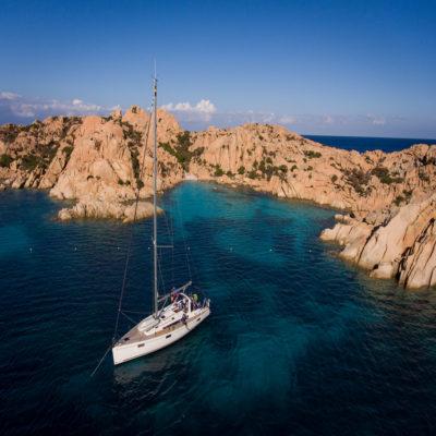 Неизвестный островок у беригов Сардинии
