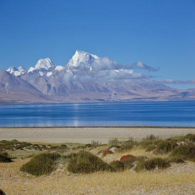 Озеро Манасаровар Тибет