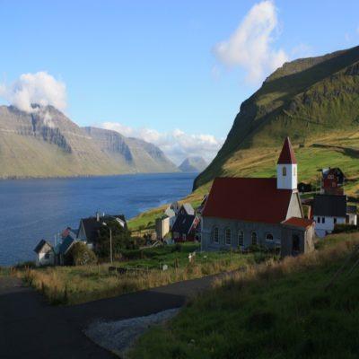 Остров Кальсой Фарерские острова