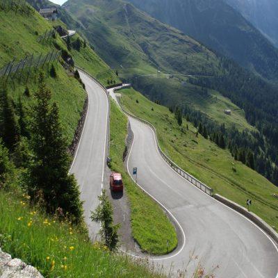 Перевал Яуфенпасс Тироль Италия