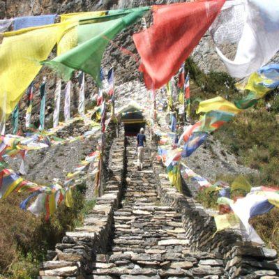 Пещера Миларепы Тибет