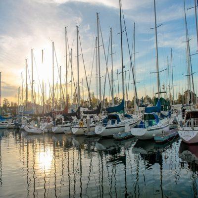Порт в Портиско италия