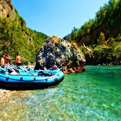Рафтинг по реке Тара Национальный парк Дурмитор Черногория