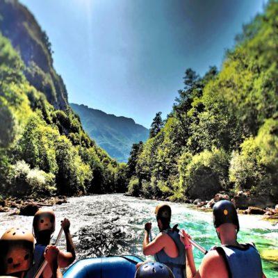 Рафтинг по реке 1 Тара Национальный парк Дурмитор Черногория