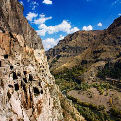 Скальный монастырь Вардзия Грузия