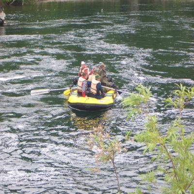 Сплав по реке Быстрой