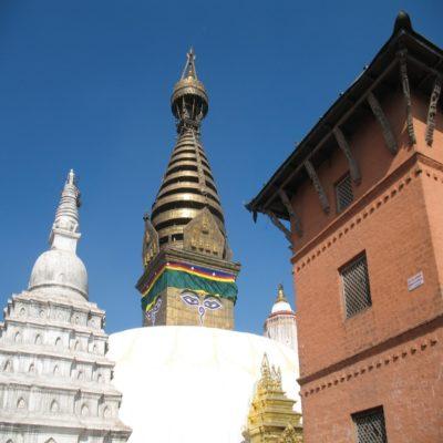 Ступа Сваямбунатх в Катманду Непал