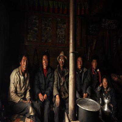 Тибетские мужчины