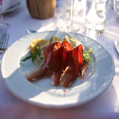 Тирольский шпек Италия