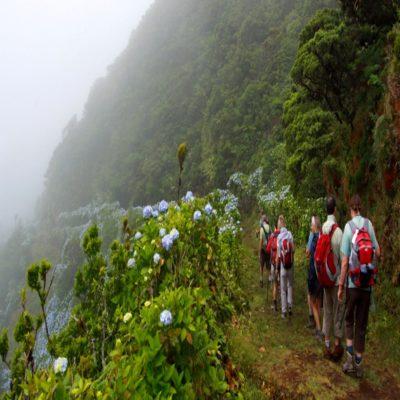 Трекинг по острову Сан Жоржи Азорские острова Португалия