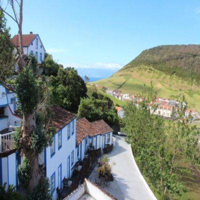 Туристический комплекс Quinta Do Canacial 1 в Велаше Азорские острова Португалия aquintadocanavial.com