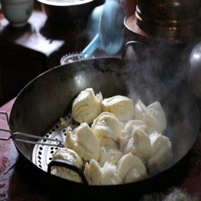 Хлеб на пару Тибет